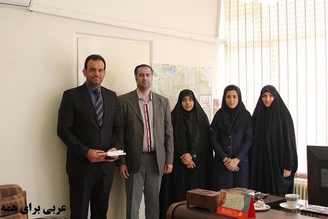 بازدید مسئول مرکز فرهنگی عراق از مرکز متاع