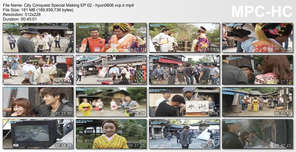Kim Hyun Joong Сity Сonquest DATV Special Making EP 02
