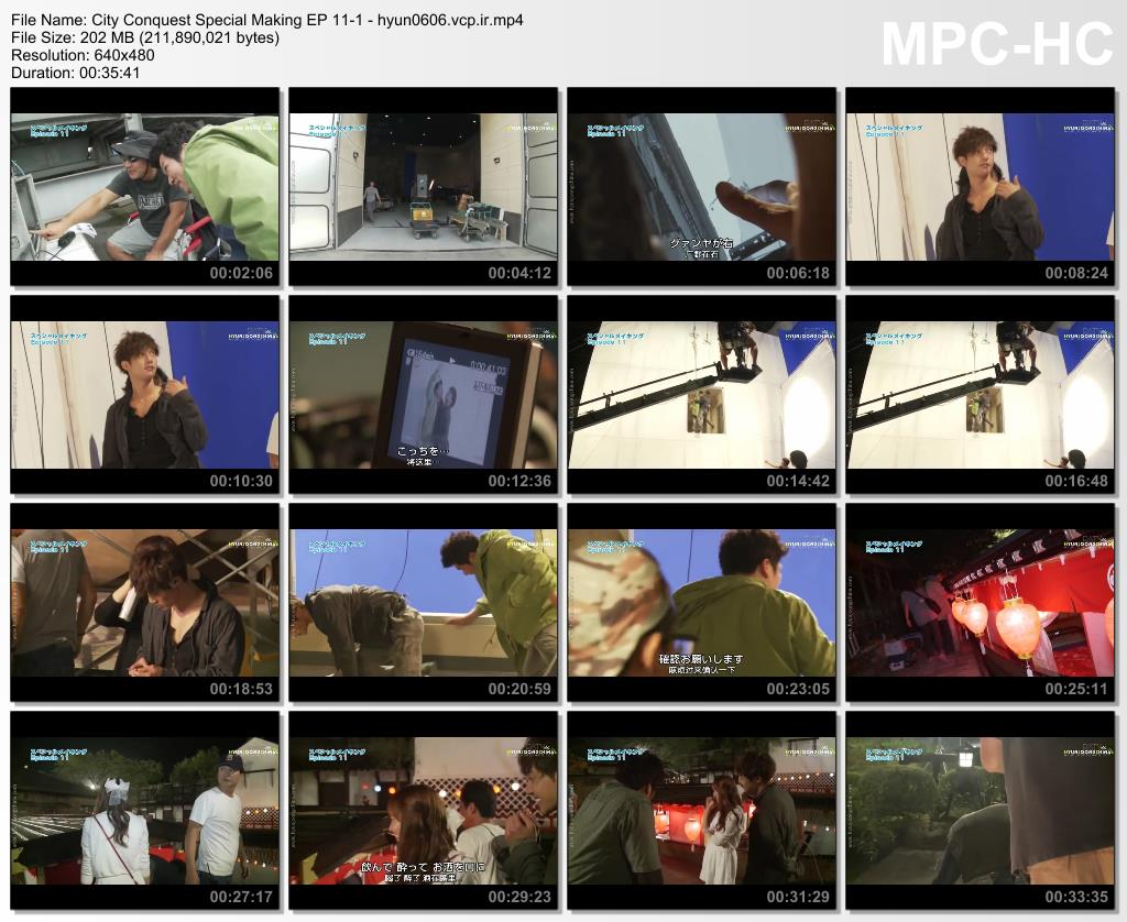 Kim Hyun Joong Сity Сonquest DATV Special Making EP 11