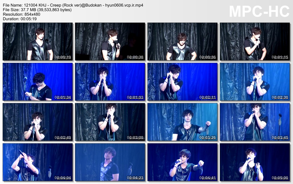 Kim Hyun Joong - CC Promotion Event In Budokan 12.10.04