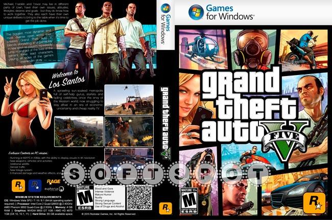 کاور بازی GTA V