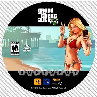 لیبلدیسک GTA V