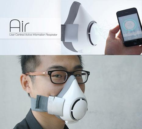 ماسک دیجیتال برای کنترل آلودگی هوا
