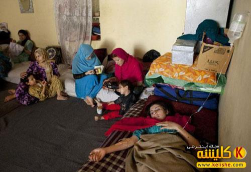 گزارش تصویری از زندان زنان در مزار شریف افغانستان