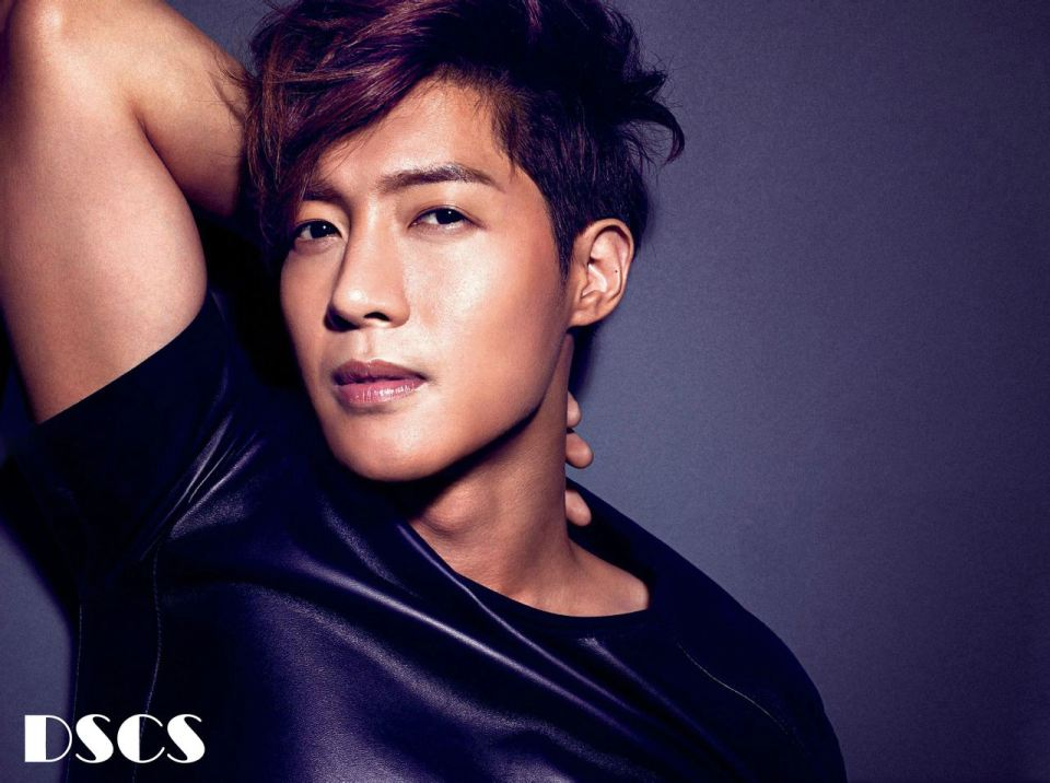 Kim Hyun Joong in Vogue Japan Magazine Sept. 2012