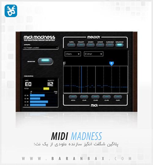 دانلود پلاگین ساخت ملودی Midi Madness