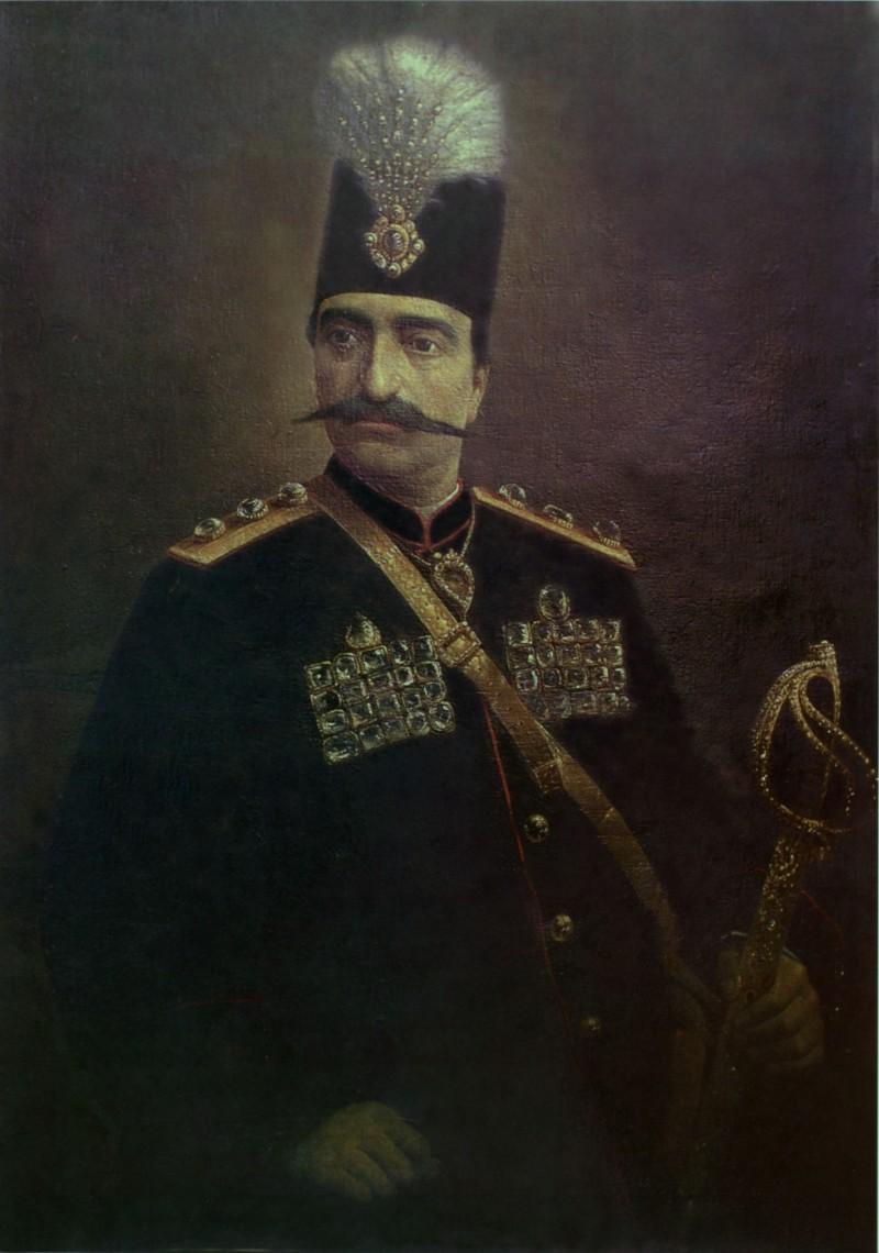 نقاشی از ناصرالدین شاه قاجار