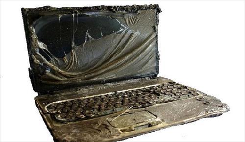 Description: داغ شدن لپ تاپ