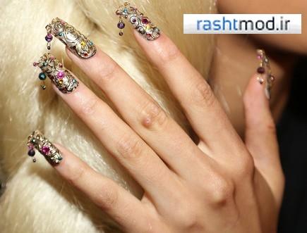 سری جدید عکسهای مدل لاک ناخن و دیزاین زنانه دخترانه