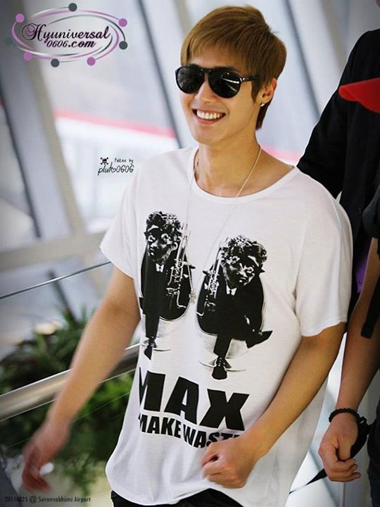 Kim Hyun Joong From Thailand To Manila 11.08.25