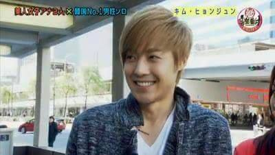 Kim Hyun Joong - Fuji TV Sakigake! Music Ranking Eight