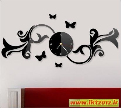 ساعت دیواری آی گل مقاوم در مقابل رطوبت و نور