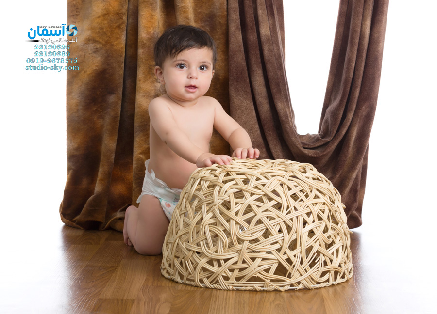 کیان کوچولوی 8.5 ماهه