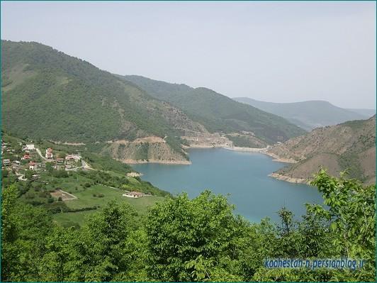 دریاچه سد سلیمان تنگه