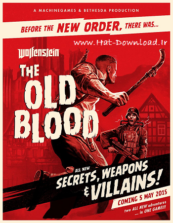 Wolfenstein The Old Blood pc cover small دانلود بازی Wolfenstein The Old Blood برای PC