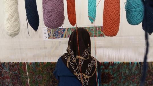وجود هشت کارگاه فرش عتبات در کرمان