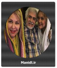عکسهای اکرم محمدی با خانواده اش