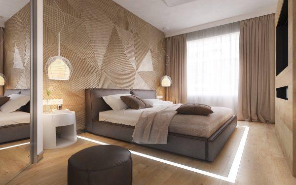 ایده برای دیوارهای اتاق خواب