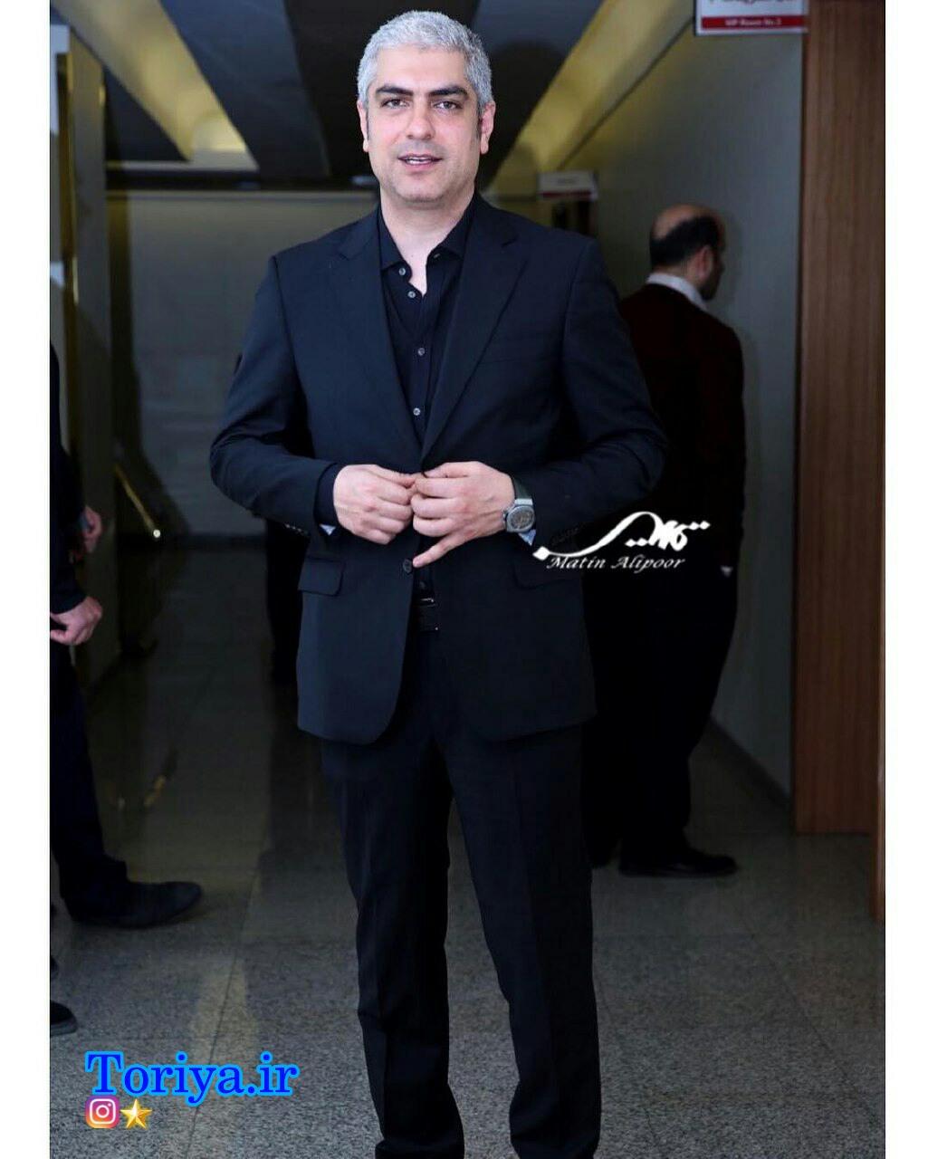 عکس مهدی پاکدل در افتتاحیه سی و پنجمین جشنواره فیلم فجر_فجر 35
