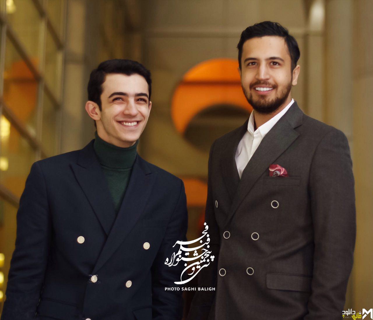 مهرداد صدیقیان و علی شادمان در افتتاحیه جشنواره 35 فیلم فجر