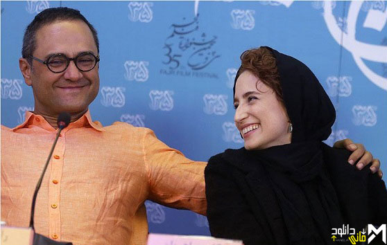 دانلود فیلم جنجال در نشست خبری فیلم نگار رامبد جوان جشنواره فجر ۹۵