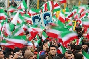 راهپیمایی 22 بهمن در ملایر