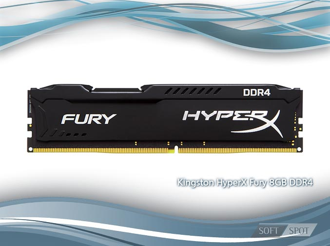 Kingston HyperX Fury 8GB DDR4 2400MHz CL15 Single Channel RAM HX424C15FB28