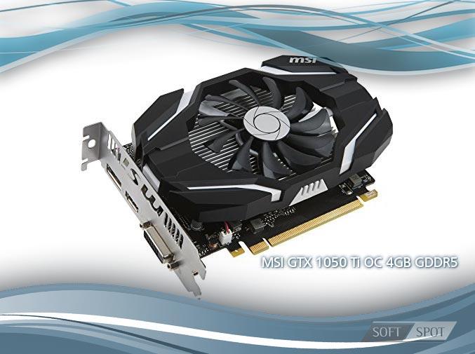 MSI GTX 1050 Ti OC 4GB GDDR5