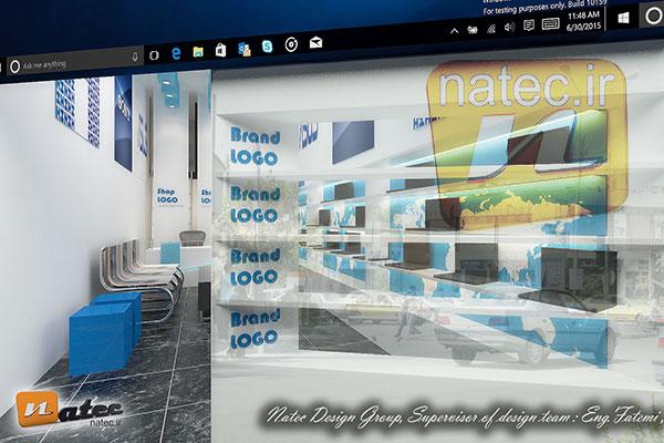 طراحی فروشگاه کامپیوتر و لوازم جانبی