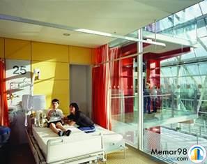 دانلود مطالعات رنگها در طراحی و معماری مراکز درمانی