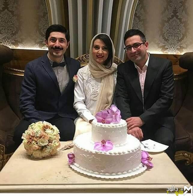 عکس های ازدواج حدیث میرامینی با مجتبی رجبی