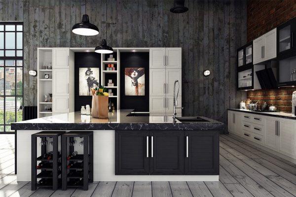 آشپزخانه به سبک صنعتی3