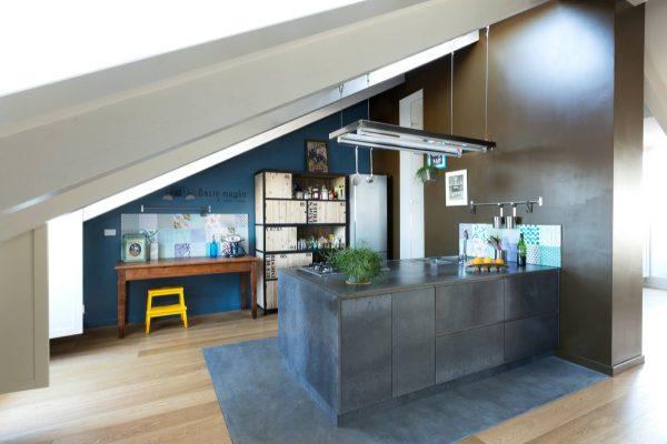 آشپزخانه به سبک صنعتی9