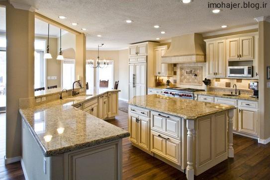دکوراسیون آشپزخانه های مدرن و زیبا