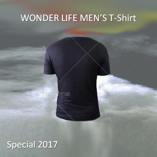 تیشرت طرح دار مردانه واندر لایف WonderLife