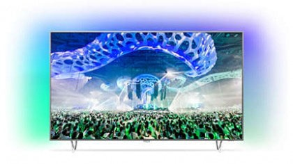 8. Philips 65PUS7601؛ کنترل نور پس زمینه، این تلویزیون 4K فیلیپس را به یکی از لذتبخشترین شگفتیهای سال تبدیل میکند.