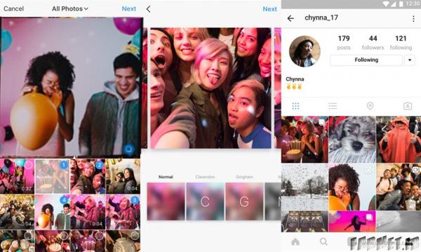 قابلیت جدید اینستاگرام قراردادن ده عکس یا ویدئو در هر پست اینستاگرام