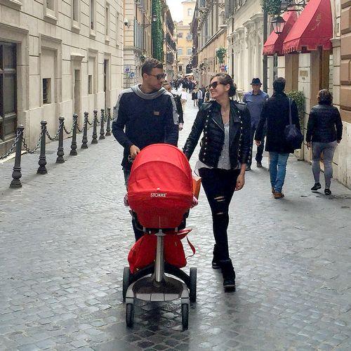 عکسهای ادین ژکو و خانواده