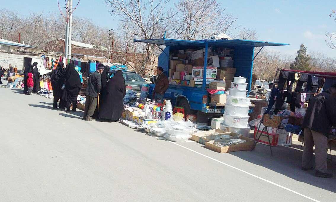 بازار محلی یا هفته بازار این بار در قاضی جهان