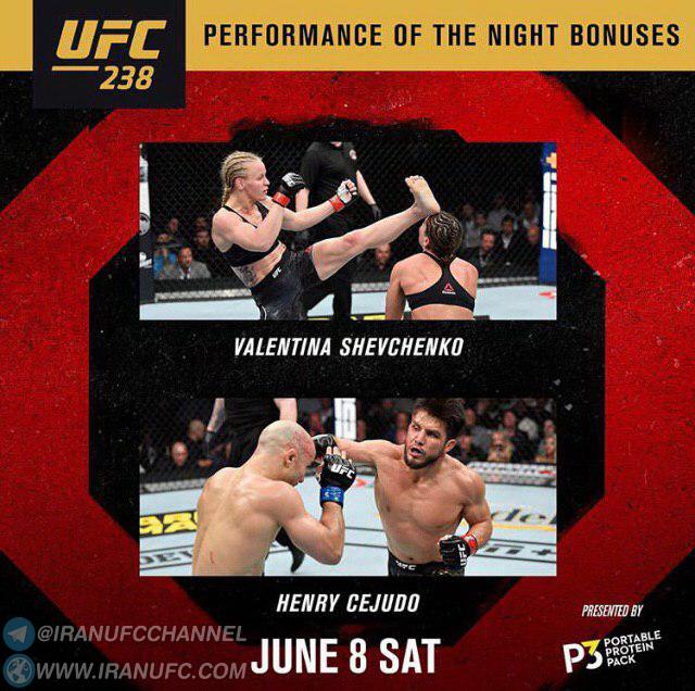 نتایج رویداد :  UFC 238: Cejudo vs. Moraes