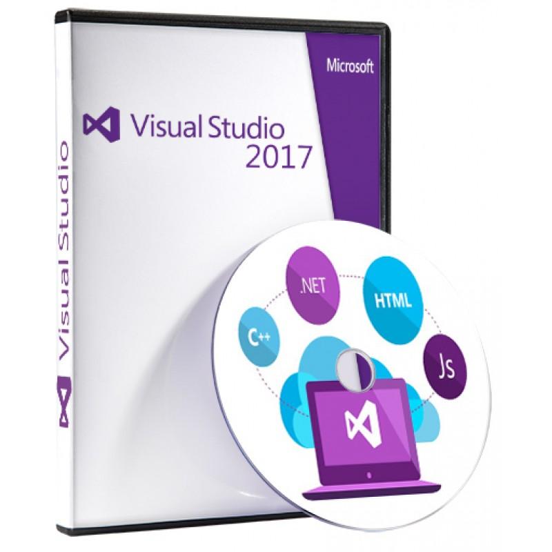 نرم افزار ویژوال استودیو 2017 نسخه کامل برای برنامه نویسی ( موبایل -ویندوز-وب)