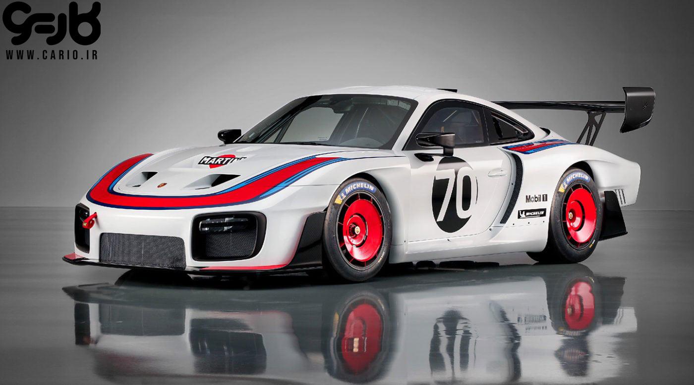 New Porsche 935 پورشه 935 جدید مانی خوشبین