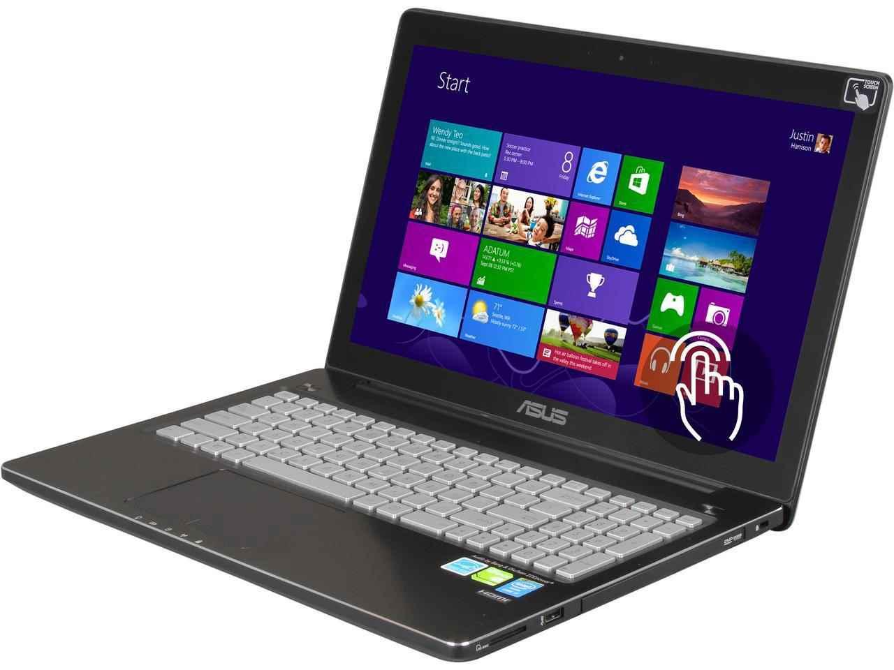 لپ تاپ استوک ایسوس مدل ASUS Q550LF - تاچ(لمسی)