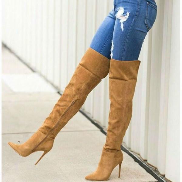 بوت ساق بلند زنانه