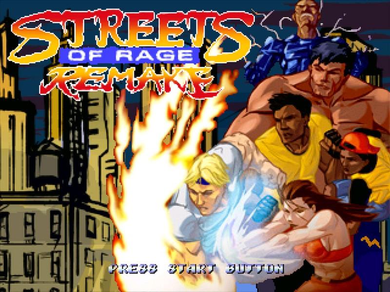 دانلود بازی شورش در شهر 5 سگا Streets Of Rage Remake v5.0 برای PC