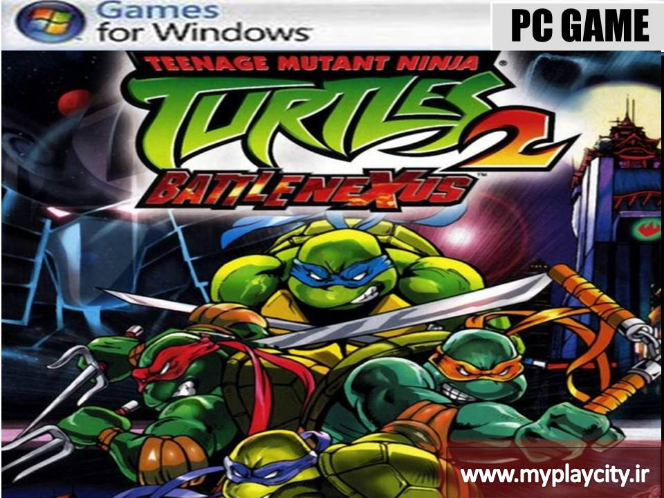 دانلود بازی Teenage Mutant Ninja Turtles 2 Battle Nexus برای کامپیوتر