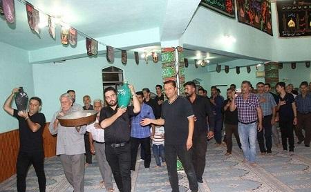 برگزاری آئین تشت گذاری در مساجد آستارا