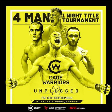 دانلود رویداد ام ام ای |  Cage Warriors - Unplugged 2