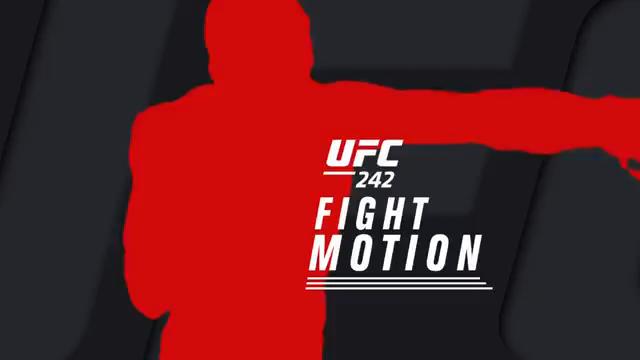 مبارزات به صورت اهسته شده: UFC 242 Fight Motion