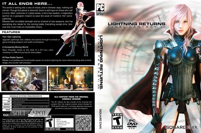 Lightning Returns: Final Fantasy XIII Cover
